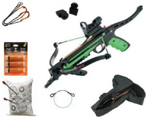 PSE Crossbows 50lb Zombie React Self Cocking Pistol Deluxe Crossbow Package from PSE Crossbows
